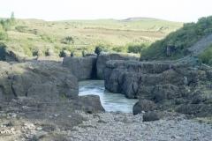 Ölfusá river winds near Skeiða-og Hrunamannavegur, north of Flúðir, Iceland.