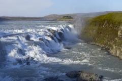 Gullfoss waterfall, Suðurland region, Iceland.