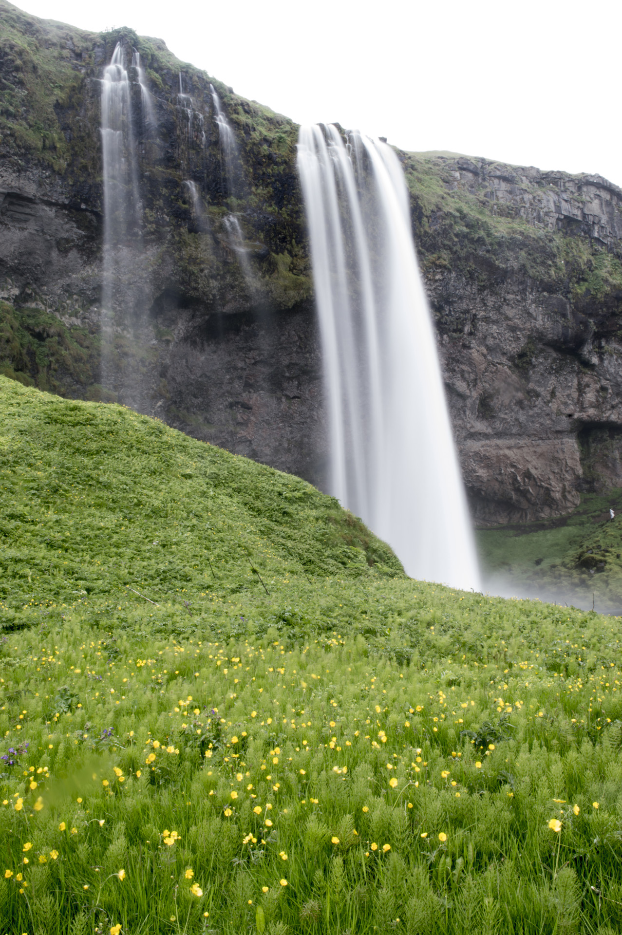 Seljalandsfoss waterfall, Suðurland region, Iceland.