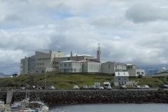 St. Francis Hospital in Stykkishólmur, Vesturland, Iceland.