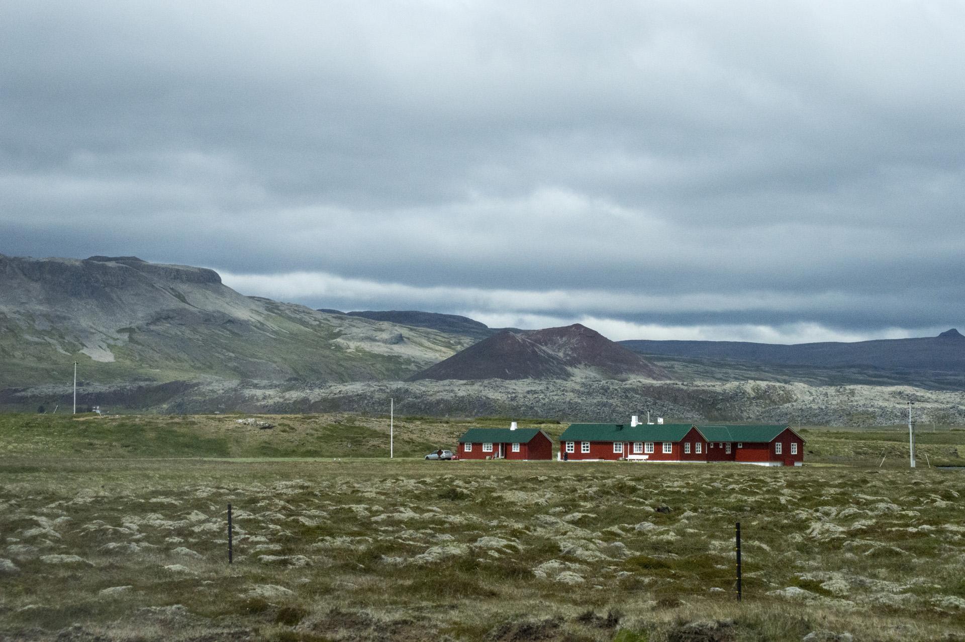 Haffjarðará (fishing club), just off of Snæfellsnesvegur, Vesturland region, Iceland.