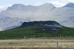Eldborg Crater, Vesturland region, Iceland.