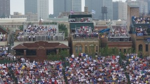 The Wrigley Rooftops.