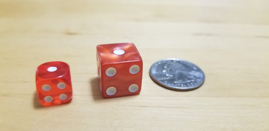Upgrade your dice