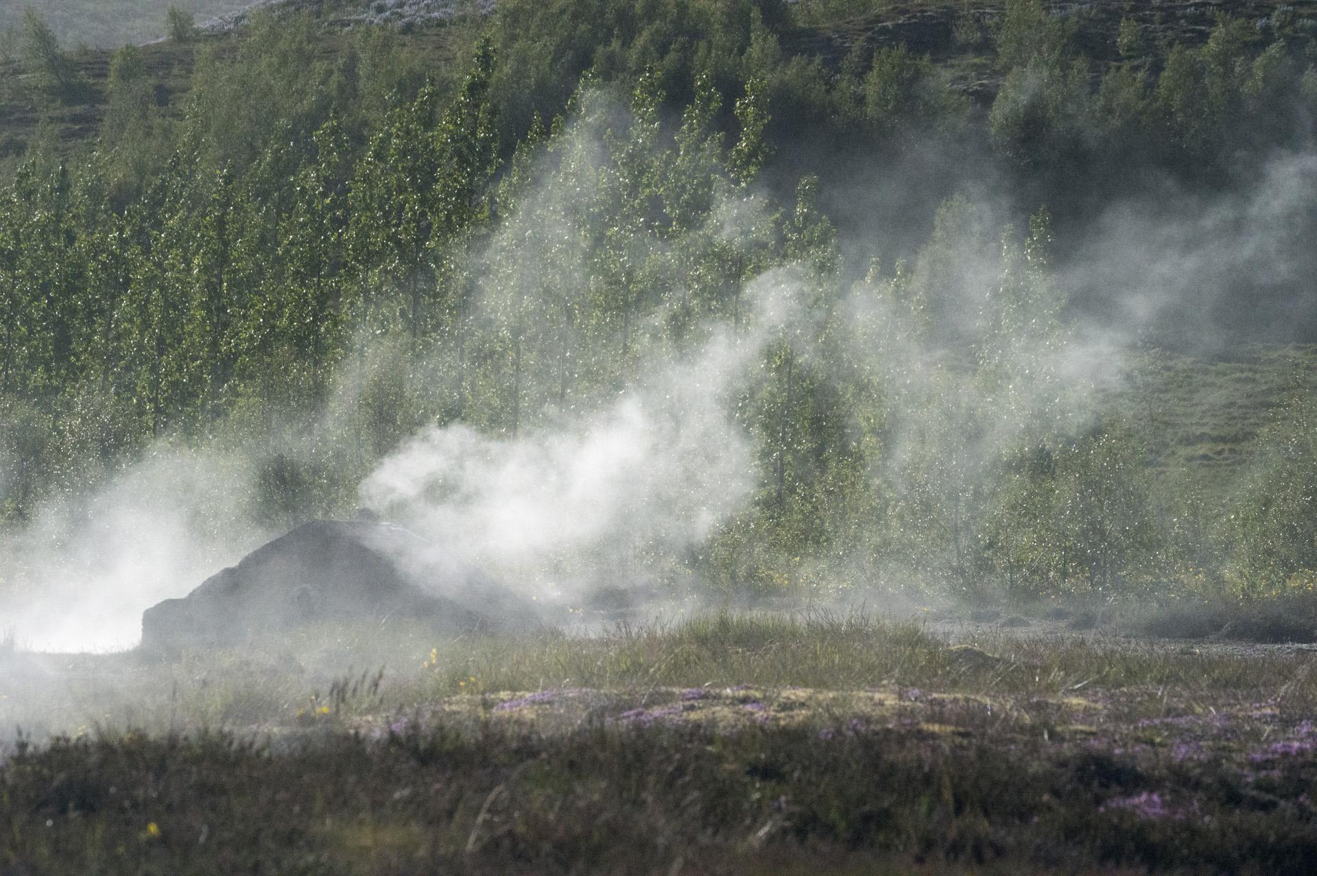 Geysir steam hut