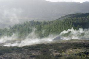 Geothermal pools at Geysir