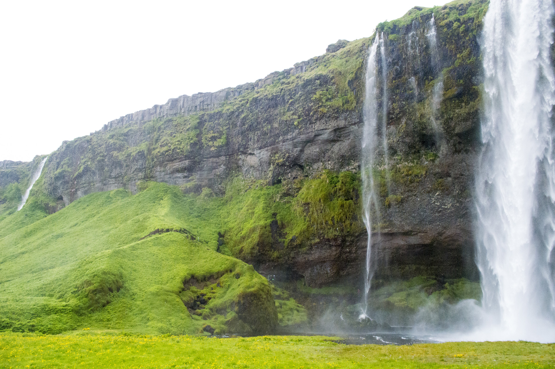 Photos: Seljalandsfoss and Hjálparfoss